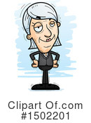 Senior Caucasian Woman Clipart #1502201 by Cory Thoman