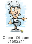 Senior Caucasian Woman Clipart #1502211 by Cory Thoman