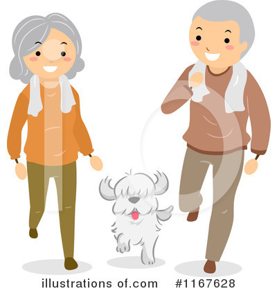 Old Couple Clipart #1167628 by BNP Design Studio