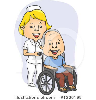 Royalty-Free (RF) Senior Citizen Clipart Illustration by BNP Design Studio - Stock Sample #1266198