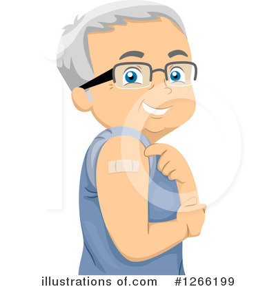Royalty-Free (RF) Senior Citizen Clipart Illustration by BNP Design Studio - Stock Sample #1266199
