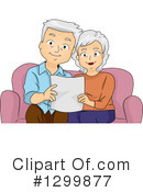 Royalty-Free (RF) Senior Citizen Clipart Illustration #1299877