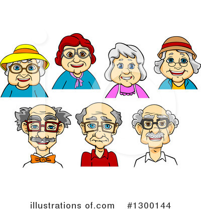Grandpa Clipart #1300144 by Vector Tradition SM
