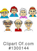 Senior Citizen Clipart #1300144 by Vector Tradition SM