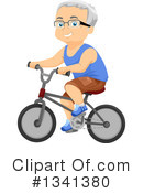 Senior Citizen Clipart #1341380 by BNP Design Studio