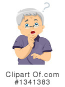 Senior Citizen Clipart #1341383 by BNP Design Studio