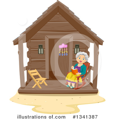 Cabin Clipart #1341387 by BNP Design Studio