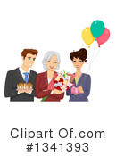 Royalty-Free (RF) Senior Citizen Clipart Illustration #1341393
