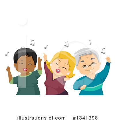 Royalty-Free (RF) Senior Citizen Clipart Illustration by BNP Design Studio - Stock Sample #1341398