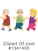 Royalty-Free (RF) Senior Citizen Clipart Illustration #1341400
