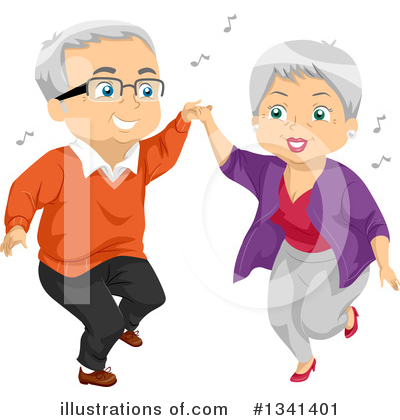 Royalty-Free (RF) Senior Citizen Clipart Illustration by BNP Design Studio - Stock Sample #1341401
