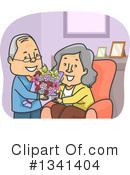 Royalty-Free (RF) Senior Citizen Clipart Illustration #1341404
