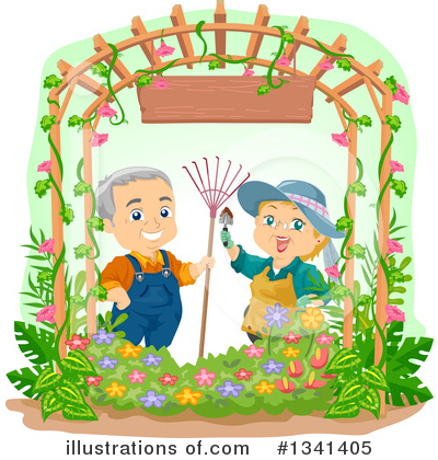 Gardening Clipart #1341405 by BNP Design Studio