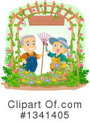 Royalty-Free (RF) Senior Citizen Clipart Illustration #1341405