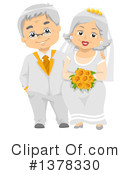 Royalty-Free (RF) Senior Citizen Clipart Illustration #1378330