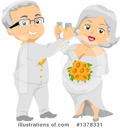 Couple Clipart #1378331 by BNP Design Studio