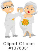 Royalty-Free (RF) Senior Citizen Clipart Illustration #1378331