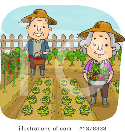 Gardening Clipart #1378333 by BNP Design Studio