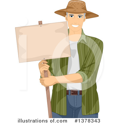 Farmer Clipart #1378343 by BNP Design Studio