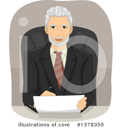 Business Man Clipart #1378350 by BNP Design Studio
