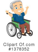 Senior Citizen Clipart #1378352 by BNP Design Studio