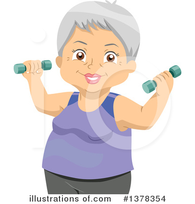 Fitness Clipart #1378354 by BNP Design Studio