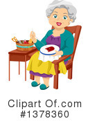 Royalty-Free (RF) Senior Citizen Clipart Illustration #1378360