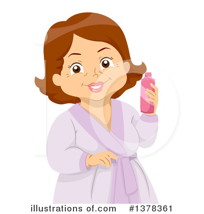 Senior Woman Clipart #1378361 by BNP Design Studio