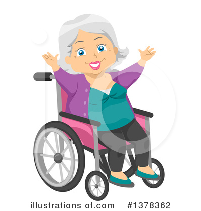 Wheelchair Clipart #1378362 by BNP Design Studio