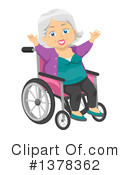 Senior Citizen Clipart #1378362 by BNP Design Studio