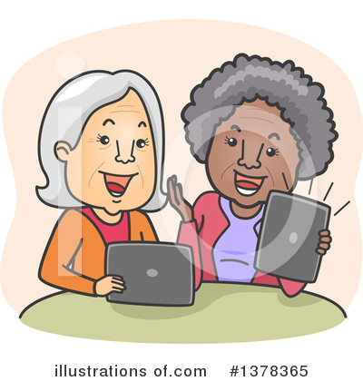 Senior Citizen Clipart #1378365 by BNP Design Studio