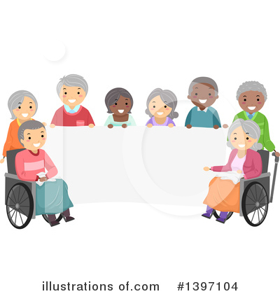 Wheelchair Clipart #1397104 by BNP Design Studio