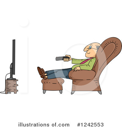 Senior Citizen Clipart #1242553 by BNP Design Studio