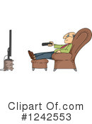 Royalty-Free (RF) Senior Clipart Illustration #1242553