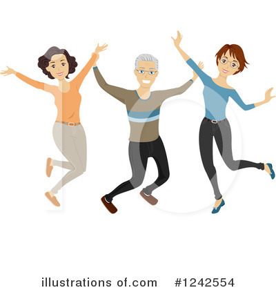 Jumping Clipart #1242554 by BNP Design Studio