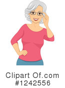 Royalty-Free (RF) Senior Clipart Illustration #1242556