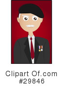 Royalty-Free (RF) Senior Clipart Illustration #29846