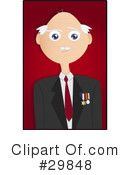 Royalty-Free (RF) Senior Clipart Illustration #29848