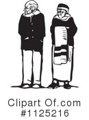 Senior Couple Clipart #1125216 by xunantunich