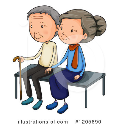 Old Couple Clipart #1205890 by Graphics RF