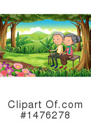 Senior Couple Clipart #1476278 by Graphics RF