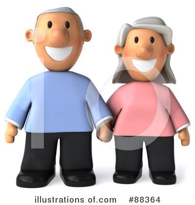 Old Couple Clipart #88364 by Julos