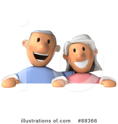 Senior Couple Clipart #88366 by Julos