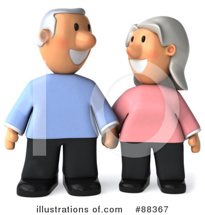 Old Couple Clipart #88367 by Julos