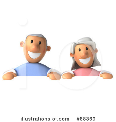 Senior Couple Clipart #88369 by Julos