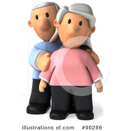 Senior Couple Clipart #90286 by Julos