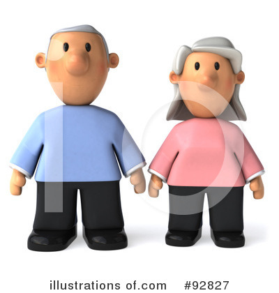 Old Couple Clipart #92827 by Julos