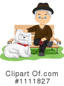 Royalty-Free (RF) Senior Man Clipart Illustration #1111827