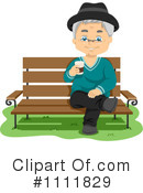 Royalty-Free (RF) Senior Man Clipart Illustration #1111829