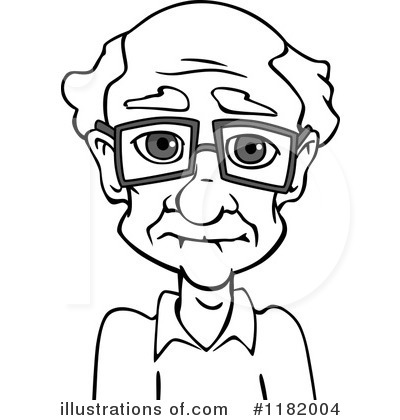 Grandpa Clipart #1182004 by Vector Tradition SM